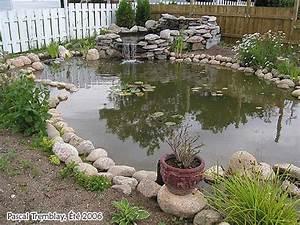 construire un bassin de jardin ou etang de jardin With comment amenager un petit jardin 7 comment installer un ruisseau ou une cascade au bassin