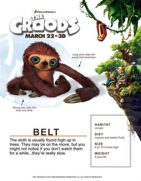 Image Sloth The Croods Wiki Fandom Powered By Wikia