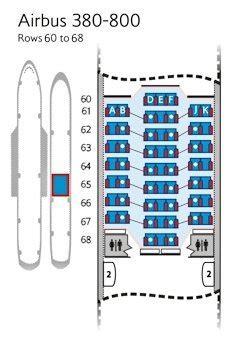airways reservation siege plans de cabines traveller plus sièges