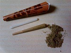 Raw cone filled with chronic smoke – Think About It by ...