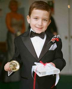 dapper ring bearers who completely stole our hearts With wedding ring bearer