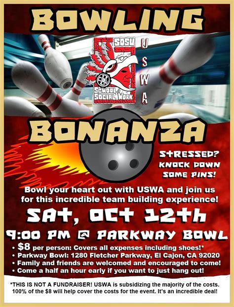 undergraduate social work association bowling bonanza