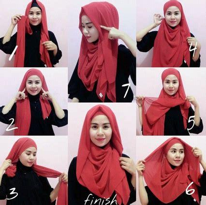tren hijab instan  praktis