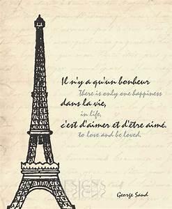Eiffel Tower - ... Inspirational Paris Quotes