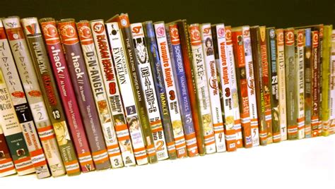Manga Comic Books