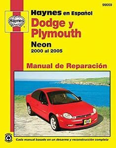 Modelos Dodge Y Plymouth Neon Haynes Manual De Reparacion