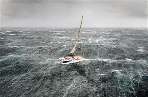Trimaran Heavy Weather by Bad Weather Sailing Barcelona Sea Academy