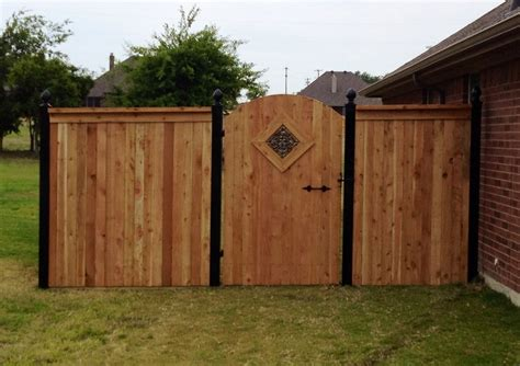 wooden fence gates styles types of wooden fences for wooden fences we build custom wood fences in when selecting between