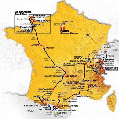 Favorites in this year's race include pogascar (uae team emirates). Tour de France 2020 : un parcours pour Pinot ? La carte et ...