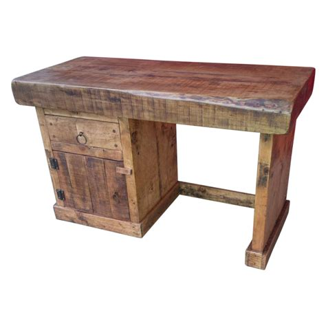the bishop rustic computer desk ely rustic furniture