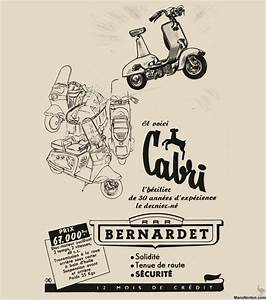 Bernardet Scooter 1955 Cabri Advert