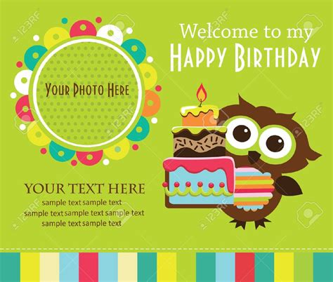 a birthday invitation birthday invitation card template for kids best party ideas