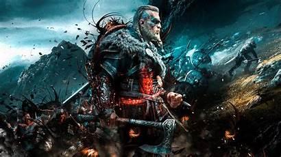 Creed Valhalla Assassin Axe Viking Battle Games