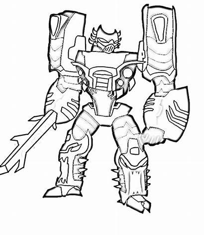 Mewarnai Gambar Robot Transformer Coloring Untuk Optimus