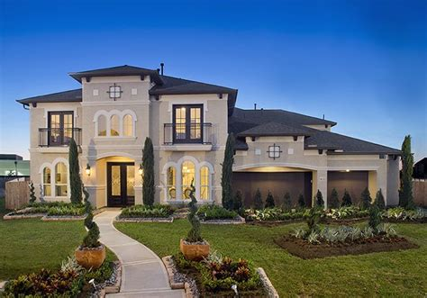 Home Design Plans Houston by Perry Homes Firethorne Model Home Design 4931s