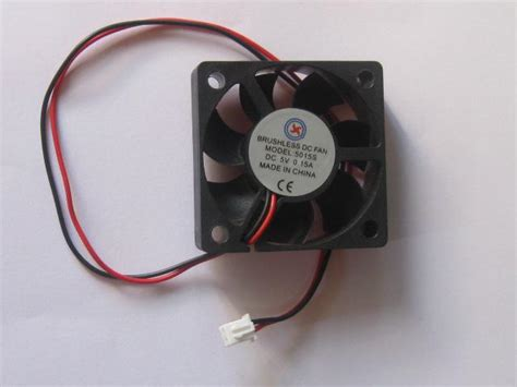 Dc Fan Wiring by 2017 Brushless Dc Cooling Blade Fan 5v Black 2 Wires 4010