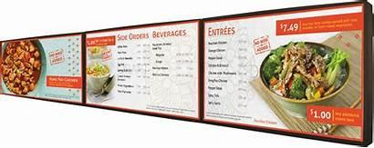 Menu Digital Board Boards Kenya Restaurant Signage