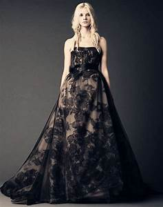 lace wedding dress dressed up girl With black lace wedding dresses