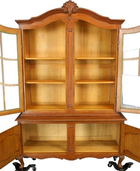 french country china cabinet vintage french country louis china cabinet hutch oak ebay