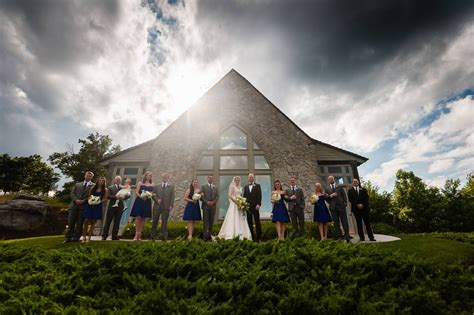 cliffs  glassy chapel wedding   jones photography