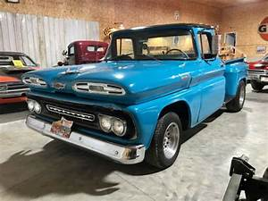 1961 Chevy Apache Pick Up V8 No Reserve 1  2 Ton Hot Rod