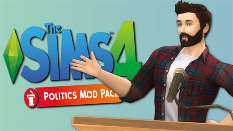 kevin  president sims  politics mod pack  sims