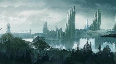 landscape, City, Futuristic, Artwork Wallpapers HD ...