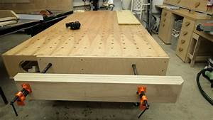 Easy, Strong, Huge Pipe Clamp Workbench Vise Jays Custom