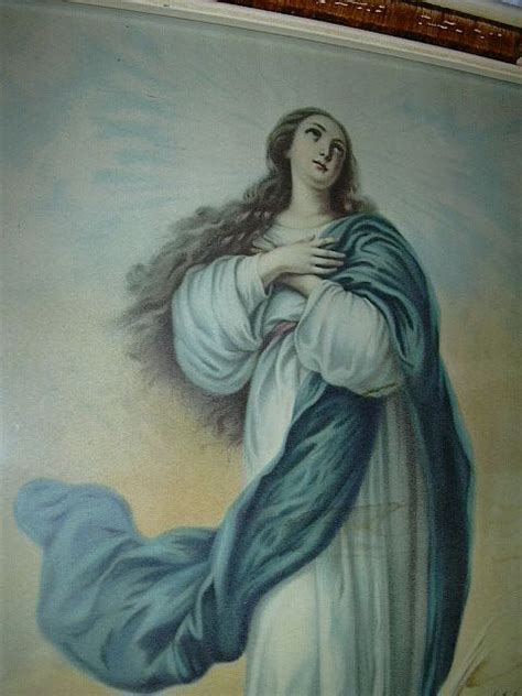 immaculate conception virgin mary  print fabulous