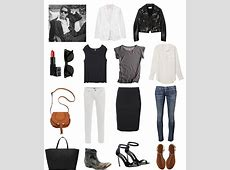 Building a Capsule Wardrobe Think & Grow Chick Think