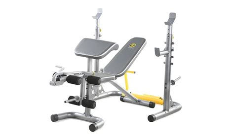 golds gym xrs  olympic workout bench groupon