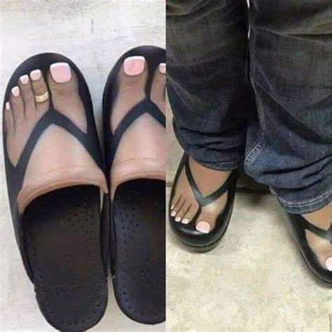 fake feet flip flops walmart faxo