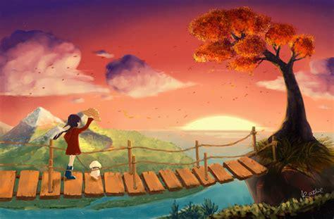 明天见!太阳!|插画|插画习作|estina - 原创作品 - 站酷 (ZCOOL)