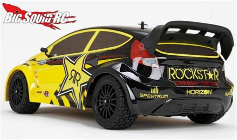 rockstar energy jeep vaterra ford fiesta rallycross 4wd 2 big squid rc rc