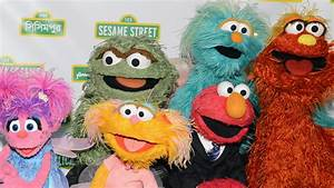 big bird cookie and other sesame