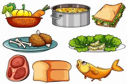 Different Kinds Clipart Snack Illustration Vector Type