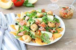 Salade Originale Pour Barbecue : salade arlequin la recette de salade arlequin foodette ~ Melissatoandfro.com Idées de Décoration