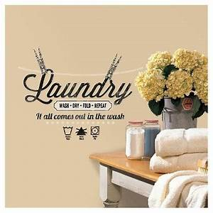 roommates laundry quote peel and stick wall decals target With inspiring family tree wall decal target