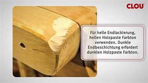Holz Löcher Füllen : risse im holz f llen youtube ~ Watch28wear.com Haus und Dekorationen