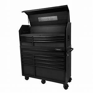 Husky 52 In W 20 In D 15 Drawer Tool Chest And Cabinet