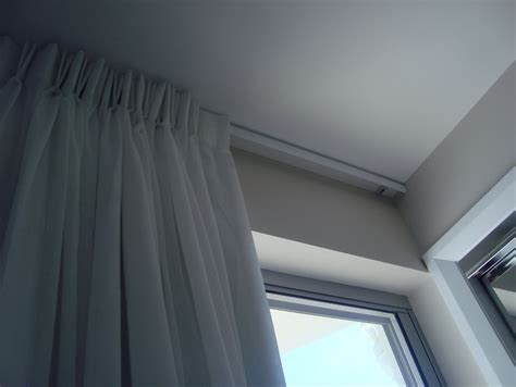 ceiling track curtains curtain rails ceiling fixing