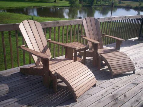 composite adirondack furniture set by tate lumberjocks