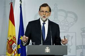 Spain's PM moves to impose direct rule over Catalonia ...