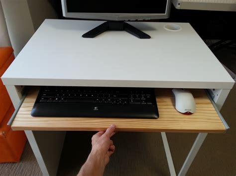 ikea desk keyboard tray ikea micke desk with keyboard tray ikea hackers