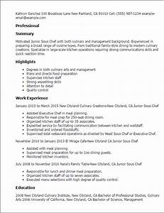 Career Objectives For Customer Service Culinary Resume Templates To Impress Any Employer Livecareer
