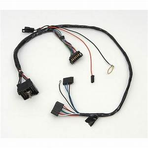 Camaro Instrument Cluster Wiring Harness  With Warning