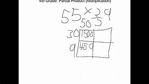 4th Grade  Partial Products  Multiplication