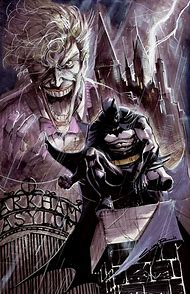Batman Arkham Asylum Joker Comic