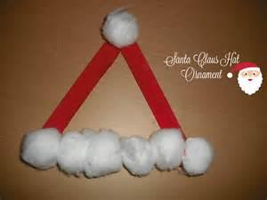 Santa Claus Christmas Ornament Crafts
