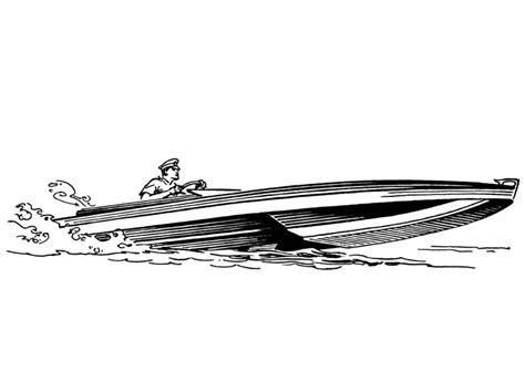 Speedboot Kleurplaat by Kleurplaat Boot Afb 18884 Images
